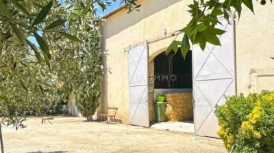 Provence - propriété de charme avec ses écuries