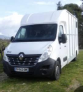 Kleine paardenvrachtwagen (B rijbewijs) Renault VL Master L3 Carrosserie Luxe AP Petit 2018 Tweedehands