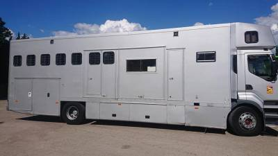 camion renault prenium 19t 5 à 7 chevaux