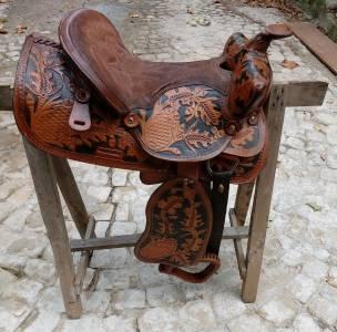 vendo sella tipo western
