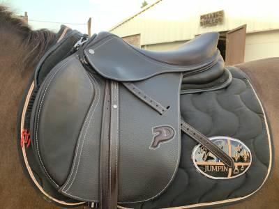 Selle privilège équitation marron