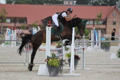 Clyde de la Mure poney français de selle.