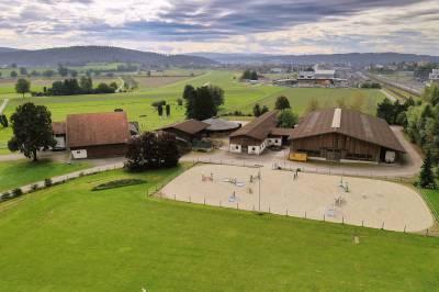 Reitsportzentrum  mit professioneller  Ausstattung