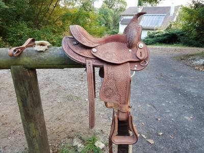 Selle  western pour enfant et poney