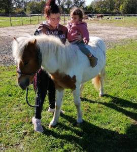 Poney taille b prend 2ans